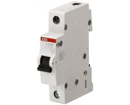 Авт. выключатель 1p, C20, 20A, ABB, арт. SH201-C20
