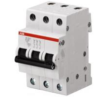Авт. выключатель 3p, B63, 63A, ABB, арт. SH203-B63