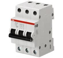 Авт. выключатель 3p, C63, 63A, ABB, арт. SH203-C63