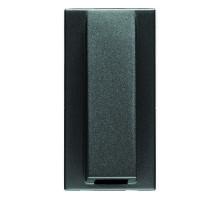Вывод кабельний Zenit антрацит/1 мод