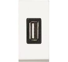 USB-зарядка 0,75А Zenit белый/ 1 мод.