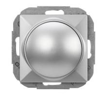 Светорегулятор поворотний, Abex Perla 400Вт SO-1P серебро