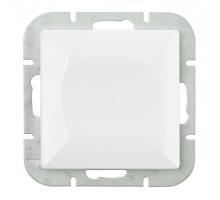 """Выключатель """"#"""" перекресн., Abex Perla 250V/10A WP-8P белый"""