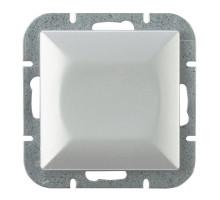 """Выключатель """"#"""" перекресн., Abex Perla 250V/10A WP-8P серебро"""
