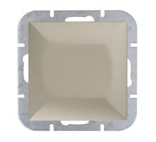 """Выключатель """"#"""" перекресн., Abex Perla 250V/10A WP-8P зол."""