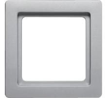 Рамка 1 пост, алюминий, Q.1 Berker 10116084