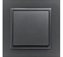 Рамка одинарная ANIMATO металик графит 90910 TSS