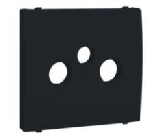 Накладка розетки телевизионной Apollo 5000, R TV-SAT черная