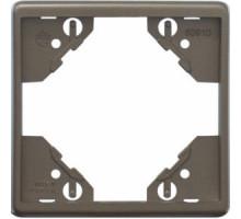 Рамка одинарная горизонтальная Apollo 5000, металик графит