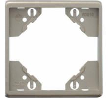 Рамка одинарная горизонтальная Apollo 5000, серебро