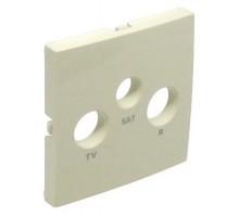 Накладка розетки телевизионной LOGUS R TV-SAT слоновая кость 90775 TMF