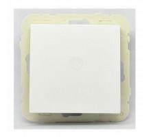 Выключатель 1кл. проходной LOGUS, белый