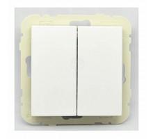 Выключатель 2кл. проходной LOGUS, белый