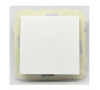 Кнопочный выключатель LOGUS, белый 21151 TBR