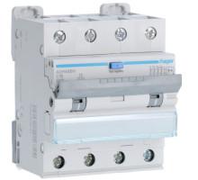 Дифференциальный авт. выключатель 4p, C16, 16А, 30мА, 6кА, Hi, Hager