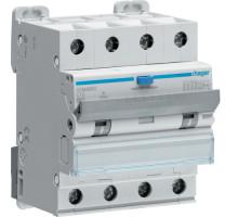 Дифференциальный авт. выключатель 4p, C10, 10А, 30мА, 6кА, A, Hager