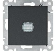 Светорегулятор нажимной  Hager Lumina черный WL4033