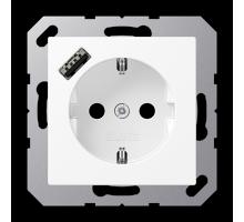 Розетка Jung А550 Розетка SCHUKO 16 A / 250 B с USB-интерфейсом A 1520-18 A WWM