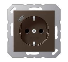 Розетка Jung А550 Розетка SCHUKO 16 A / 250 B с USB-интерфейсом A 1520-18 C MO