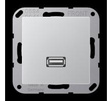 Розетка USB 2.0 Jung А550 MA A 1122 AL
