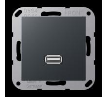 Розетка USB 2.0 Jung А550 MA A 1122 ANM