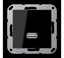 Розетка USB 2.0 Jung А550 MA A 1122 SW
