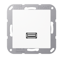 Розетка USB 2.0 Jung А550 MA A 1122 WW