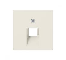 Крышка (накладка) для одинарной компьютерной розетки  A569-1BFPLUA Jung eco profi