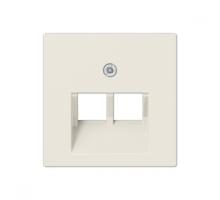 Крышка (накладка) для двойной компьютерной розетки A569-2BFPLUA Jung eco profi