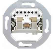 Розетка телефонная RJ12 (механизм), Jung A500 EPUAE8UPO