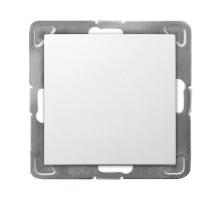 Выключатель 1-клавишный,  250V/16A OSPEL IMPRESJA белый