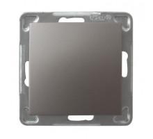 Выключатель 1-клавишный,  250V/16A OSPEL IMPRESJA титан