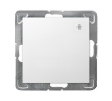 """Выключатель """"#"""" перекрестный, 250V/16A OSPEL IMPRESJA  белый"""