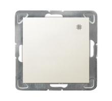 """Выключатель """"#"""" перекрестный, 250V/16A OSPEL IMPRESJA  бежевый"""