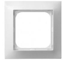 Рамка 1-кратная OSPEL IMPRESJA белая