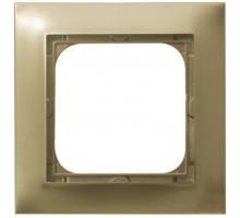 Рамка 1-кратная OSPEL IMPRESJA золото