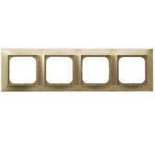 Рамка 4-кратна гориз., OSPEL IMPRESJA золото