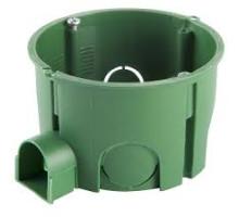 Коробка установочная Schnedier, для бетонных/кирпичных стен, диаметр 65мм, глубина 45мм, с шурупами