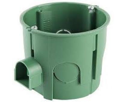 Коробка установочная Schnedier, для бетонных/кирпичных стен, глубокая, диаметр 65мм, глубина 60мм, с шурупами