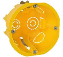 Коробка установочная Schnedier для г/к стен, диаметр 65мм, глубина 45мм