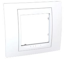 Рамка 1-местная Unica Plus, белый