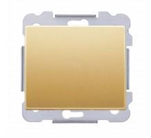 Выключатель 1кл. SIEMENS 16АХ, 250V, Золото Одиссей