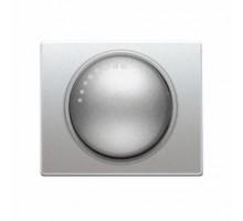 Накладка светлорегулятора SIEMENS IRIS Алюминий Меркурий