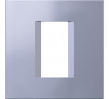 Рамка 1M TEM MODUL line, синий металик