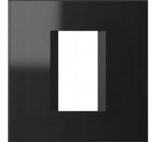 Рамка 1M TEM MODUL line, черная