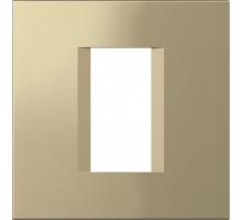 Рамка 1M TEM MODUL line, золото