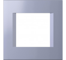 Рамка 2M TEM MODUL line, синий металик