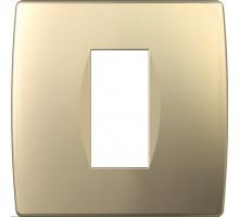 Рамка 1M TEM MODUL SOFT, золото