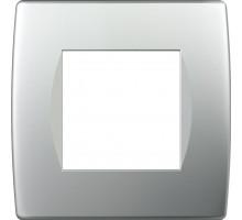 Рамка 2M TEM MODUL SOFT, серебро