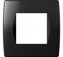 Рамка 2M TEM MODUL SOFT, черная